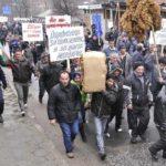Тютюнопроизводители от Силистра на протест в Кирково
