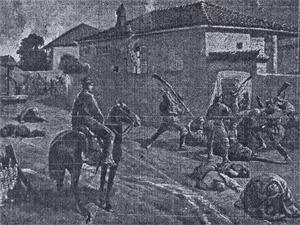 ЗВЕРСТВА: При своето отстъпление от Добруджа влашките власти се отдадоха на терор над мирното население.