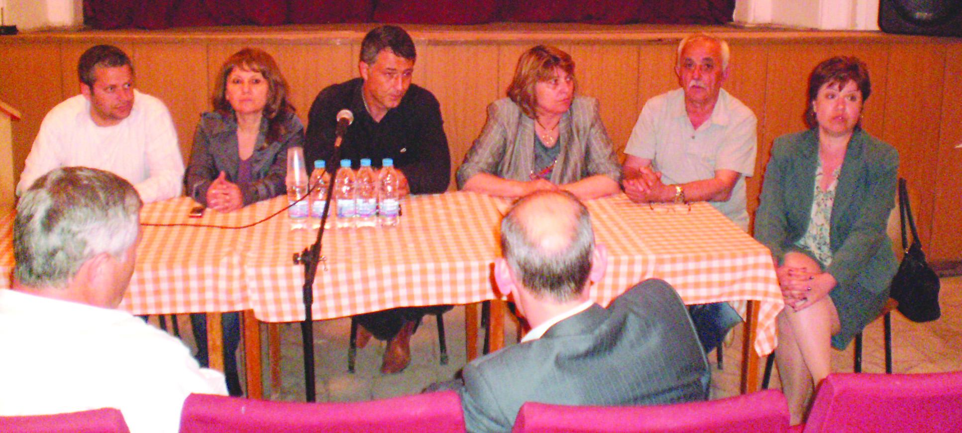 Представители на ПП ГЕРБ се срещнаха с жители на Йорданово