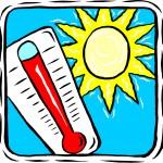 Четиридесет градуса чукна термометъра в Силистра
