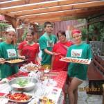 Петима доброволци от Силистра участваха в международен гурме фест с екологична насоченост в съседна Румъния