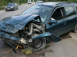 Тежка катастрофа край Сребърна, за щастие няма пострадали