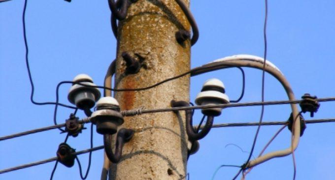 Кражба на ток в село Средище