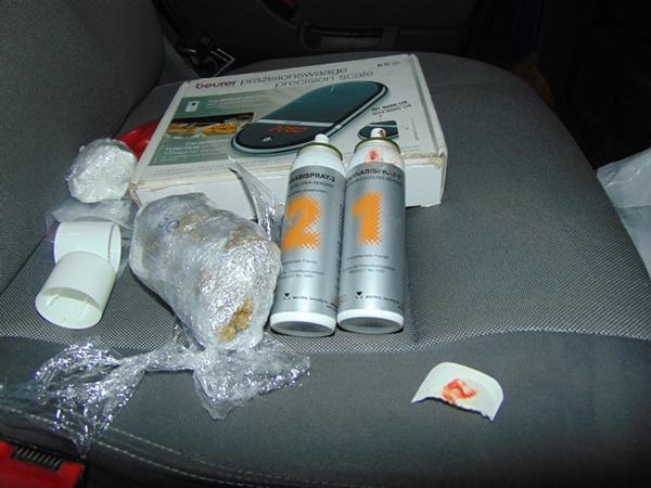 Автомобил пълен с дрога е заловен край село Средище