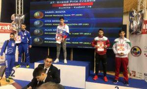 Бронзов медал по карате за силистренец на турнир в Хърватска