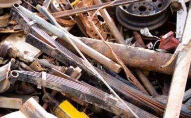 Незаконен пункт за изкупуване на метали в Бабук
