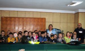 """Деца от ДГ """"Ян Бибиян"""" гостуваха на Районното управление в Силистра"""