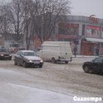 Силен сняг отново свари Силистра неподготвена
