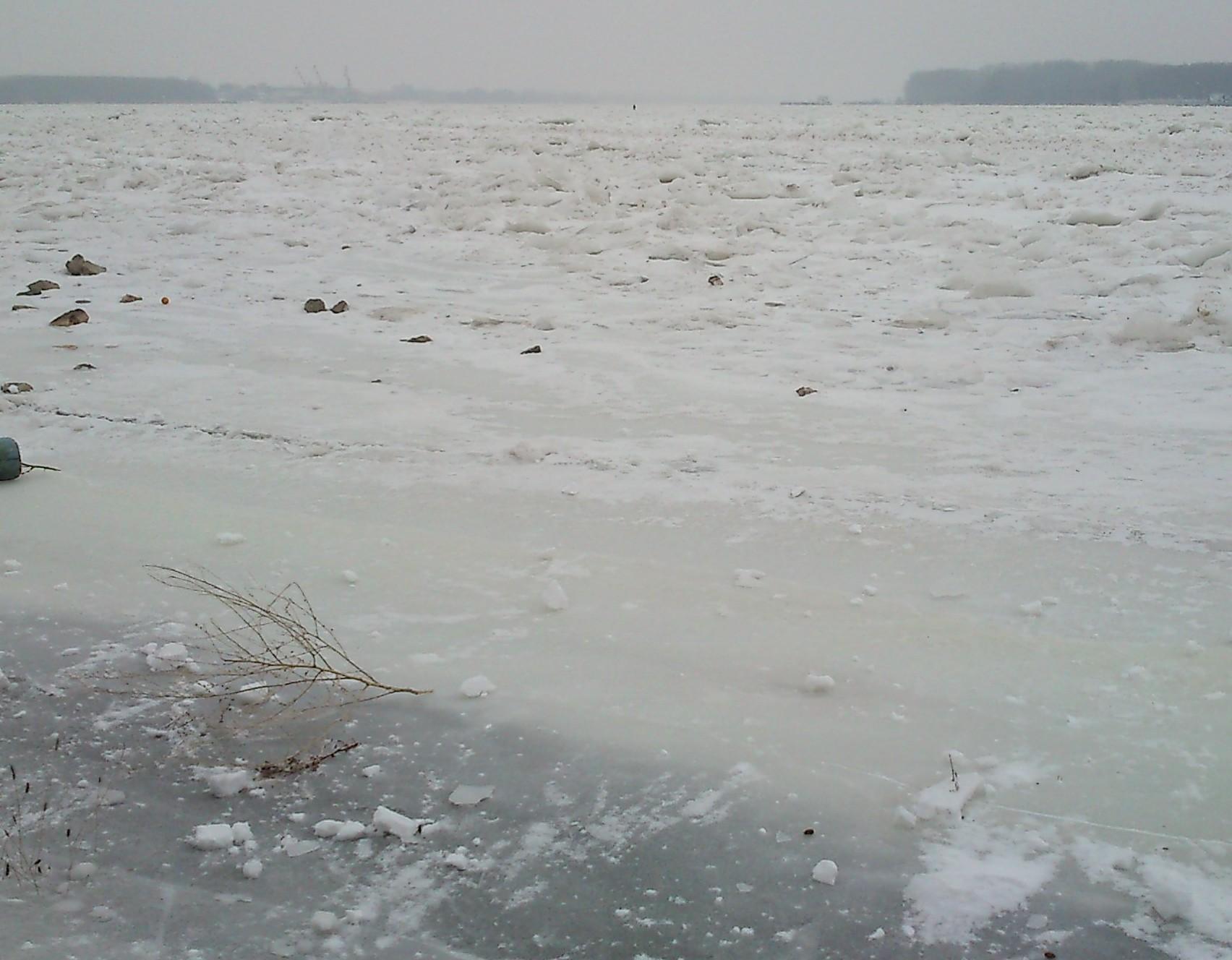 Нивото на река Дунав при Силистра се понижава