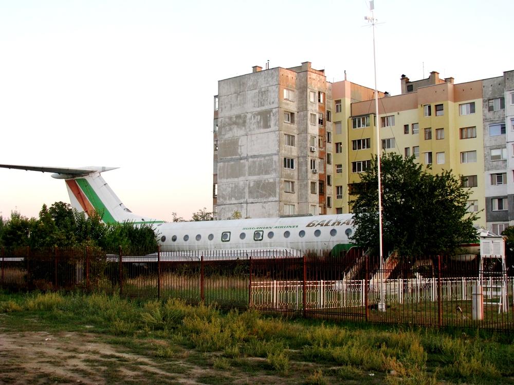Самолета в Силистра – детски атракцион?