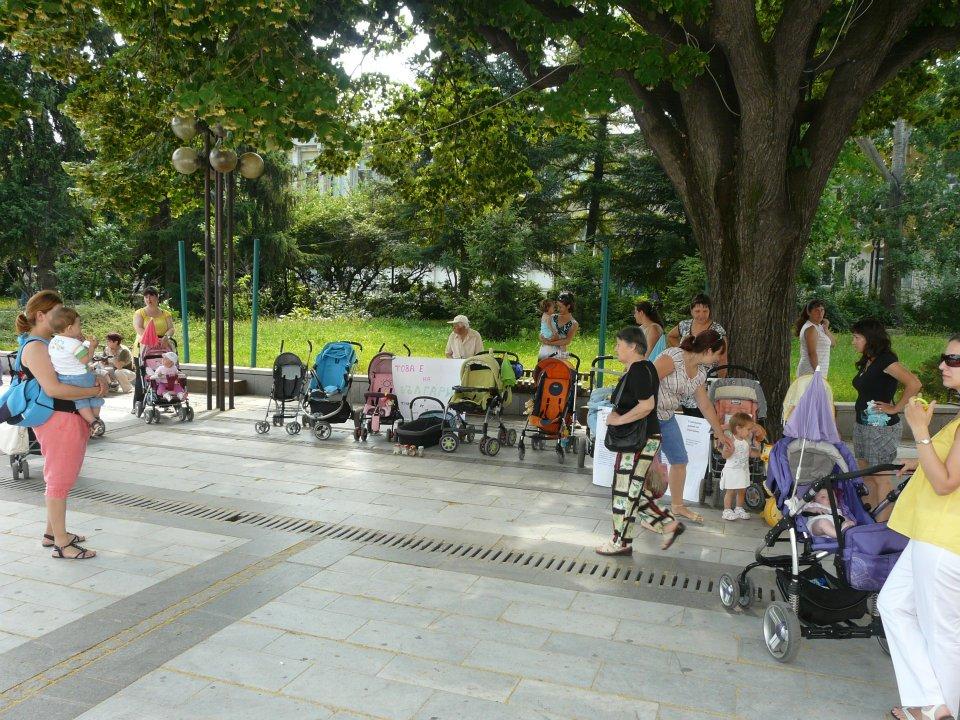Майки от Силистра отново на протест