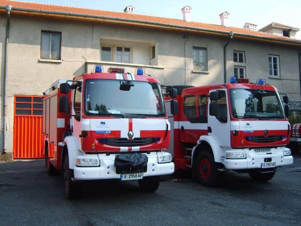 """На пет сигнала са реагирали през вчерашния ден екипи на ОУ""""Пожарна безопасност и защита на населението"""""""