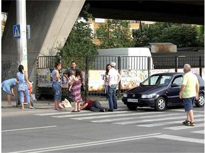 Пострадал е пешеходец в Силистра