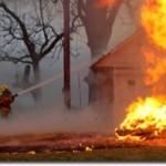 Небрежна работа с открит огън е довела до пожар