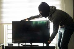 Кражба на телевизор от жилище