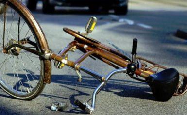 """Пиян велосипедист се блъсна в """"Мерцедес"""""""